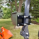 Universal Toolbox Mount for Tractor|Lawnmower|Forklift|UTV Kubota|John Deere|Ford